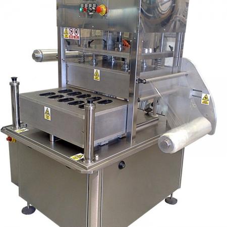 Termoselladora semiautomática